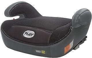 Play Three Fix, Silla de coche grupo 2/3 Isofix, gris/negro