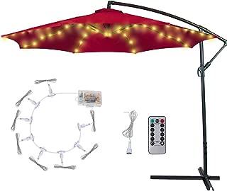 Best patio solar umbrella lights Reviews