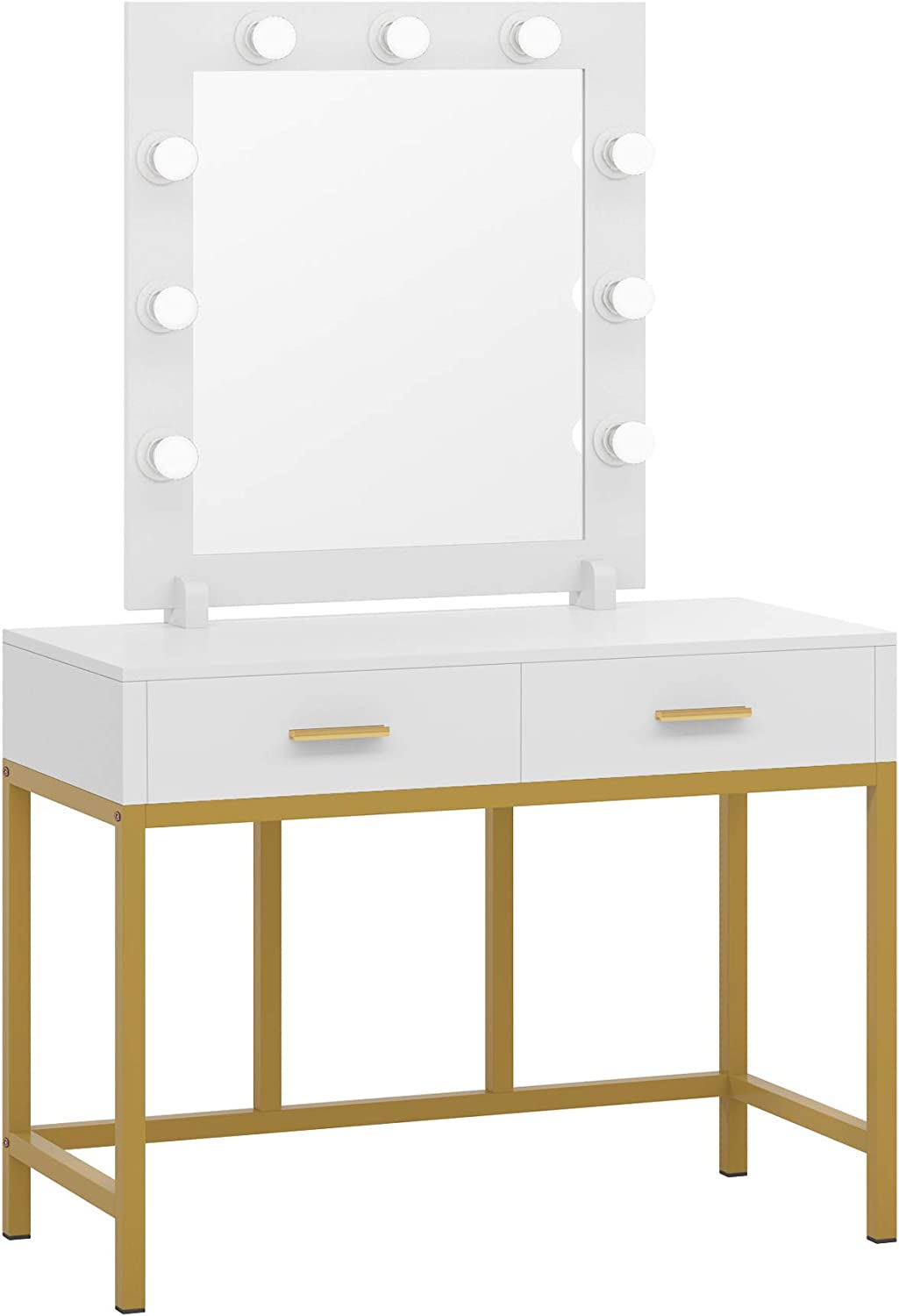 Tribesigns Vanity Table with Mirror Makeup Dress Sales for sale Memphis Mall Lighted