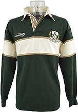 RFU Uomo Inghilterra Maglia Da Rugby Manica Corta Polo T Shirt Colletto Sport