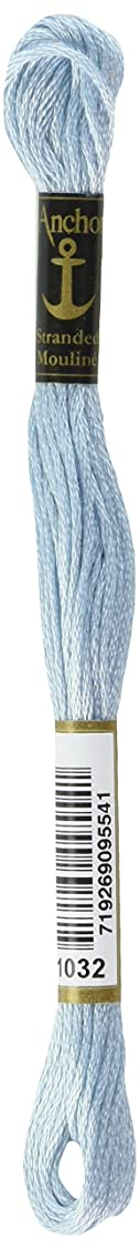 Anchor Six Strand Embroidery Floss 8.75 Yards-Antique Blue Very Light 12 per box vj22170476964383