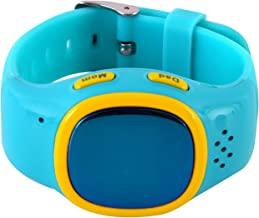 RelyEon Blue GPS Tracking Digital Blue Watch for Kids