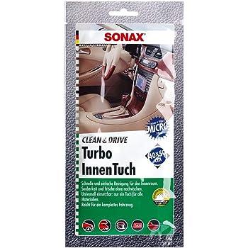 8x SONAX Clean/&Drive TurboWaxTuch 40x50 MicrofaserTuch Wachstuch 1 Stück