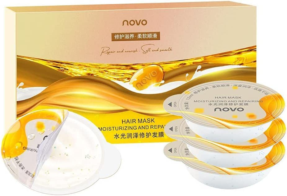 YoJiSa Deeply Hydrating Treatment Limited time Quality inspection sale Hair Damaged Mask for Dry