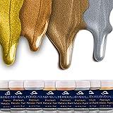 individuall Juego de colores metalizados prémium | oro...