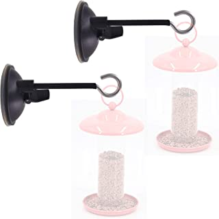 YYST Window Suction Cup Hanger - for Bird Feeders and Wind Chimes- no Feeder and Wind Chimes - 2 Pack