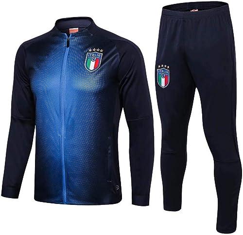 Apparence du Club de Football pour Hommes, vêteHommests de Sport, Veste Longue à glissière