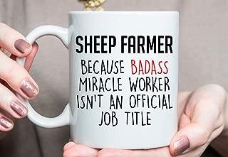 Gift for Sheep Farmer Sheep Farmer Mug Best Sheep Farmer Ever Sheep Farmer Gift Ideas