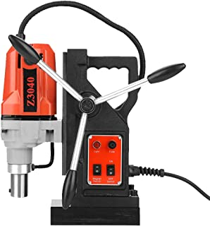 Magnetic Drill Press, 110V Dia.12-Dia.40 Metal Drill High Power Multi-Function Magnetic Drill Metal Drill Press (US plug)