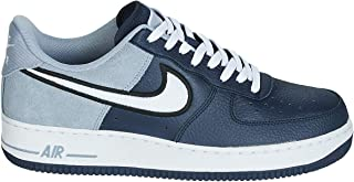 Mens Air Force 1 07 Leather Suede Trainers
