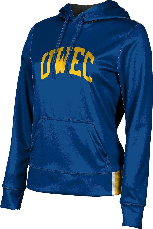 University of Wisconsin-Eau Claire Girls' Pullover Hoodie, School Spirit Sweatshirt (Solid)