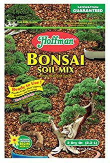 Hoffman 10708 Bonsai Soil Mix, 2 Quarts, Brown/A