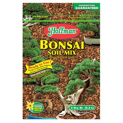Hoffman 10708 Bonsai Soil Mix, 2 Quarts, Brown/A