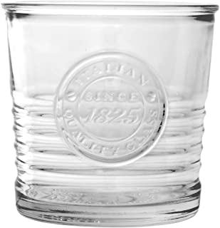 Bormioli Rocco 540624 Officina 1825 Whiskyglas, 300ml, Glas, transparent, 6 Stück