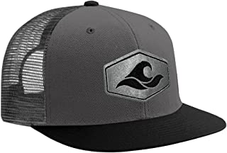 Joe's USA Koloa Surf Hexagon Patch Logo MESH Snapback Hats