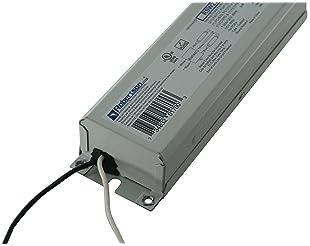 Robertson 3P20132 Fluorescent eBallast for 2 F40T12 Linear Lamps, Preheat- Rapid Start, 120Vac, 50-60Hz, Normal Balla...