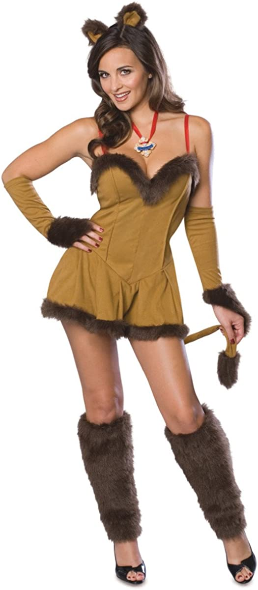 Rapid rise Cowardly Lioness Costume - trend rank X-Small Size 2-6 Dress