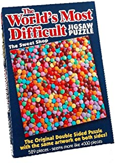 Paul Lamond Games The World's Most Difficult Jigsaw Puzzle, The Sweet Shop, 529pc