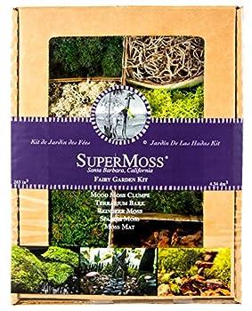 SuperMoss  50310  Fairy Garden Kit Mixed Mosses 4 oz.