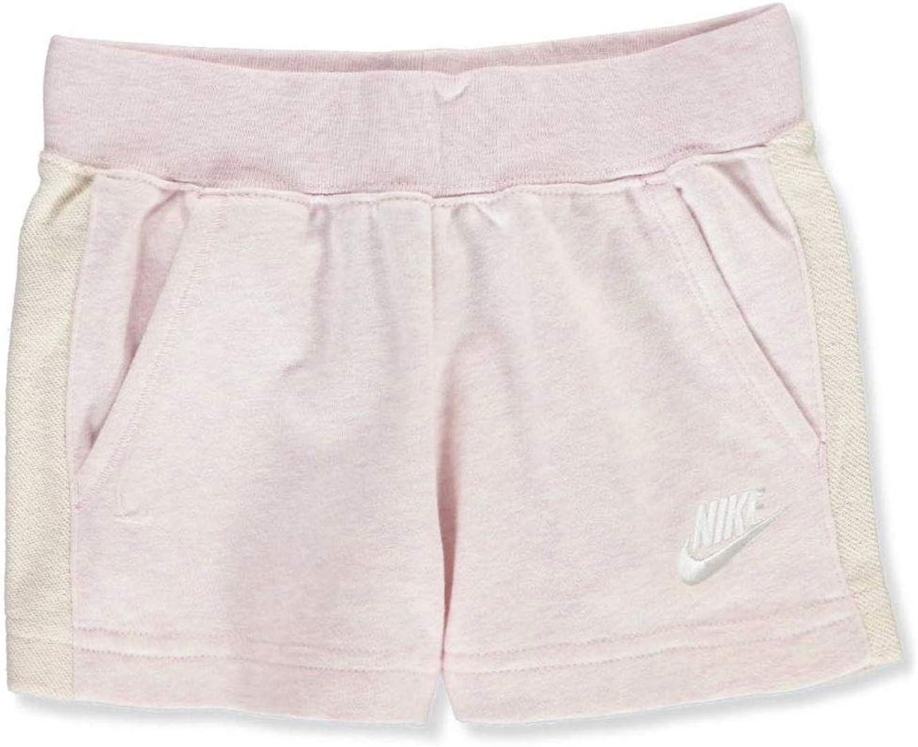 Nike Toddler Girls' Knit Shorts Pink Foam Heather Size 4T