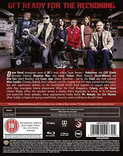 Doom Patrol: Season 1 [Blu-ray] [2019] [Region Free]