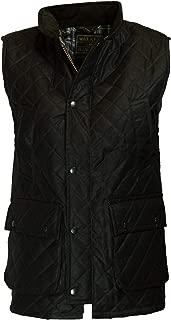 Walker & Hawkes - Mens Wax Diamond Quilted Bodywarmer Waistcoat Countrywear Vest