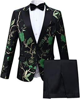Best dark green prom suit Reviews