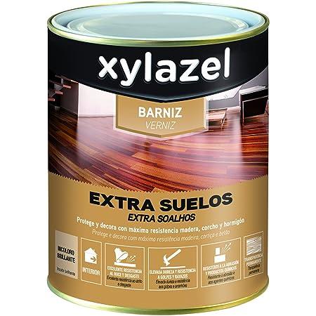 Xylazel M128694 - Barniz agua suelo 750 ml satin: Amazon.es ...