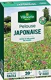 Vilmorin 4466812 Pelouse Japonaise Mel Fleurs Annuelles, Vert, 5.80 x 14.5 x 22 cm
