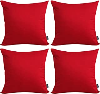 pillow covers red