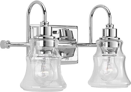 2021 Progress Lighting P300138-015 Litchfield Bath discount & Vanity, lowest Chrome online sale