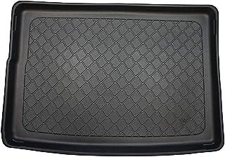 Alfombrilla Maletero Coche Accesorios Protector Maletero PVC Compatible con Opel Astra V K Hatchback con Suelo Alto, + Regalo Desde 2015 con Rueda Repuesto Temporal Ideal para Perro Mascotas