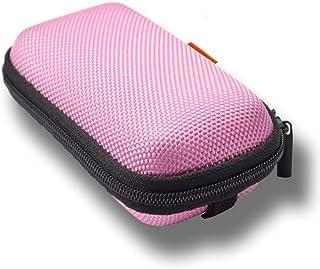 GLCON Rectangle Shaped Portable Protection Hard EVA Case,Mesh Inner Pocket,Zipper..