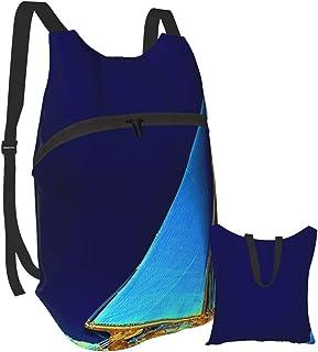 Mochila portátil plegable, mochila para computadora para adultos, antirobo, delgada y duradera para portátiles.
