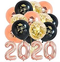 JOJOR Felicidades Graduados Globos 2020, Decoraciones de Fiesta de Graduación Universitaria Suministros,19 Piezas