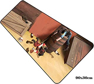 Alfombrilla De Ratón Juego Anime Mouse Pad Team Fortress 2 Mouse Pad Gamer Domineering 900X300X2Mm Notbook Mouse Mat Gaming Mousepad Beautiful Pad Mouse Pc Escritorio Padmouse