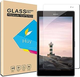 タブレットPC 液晶保護フィルム 高透過率 防爆裂 スクラッチ防止 気泡ゼロ 指紋防止 硬度9H (Xperia Z3 Tablet Compact専用)