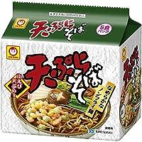 マルちゃん 天ぷらそば 5食