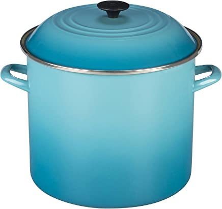 Stock Pot, 22 Cm, Le Creuset, 92100022, Azul Caribe