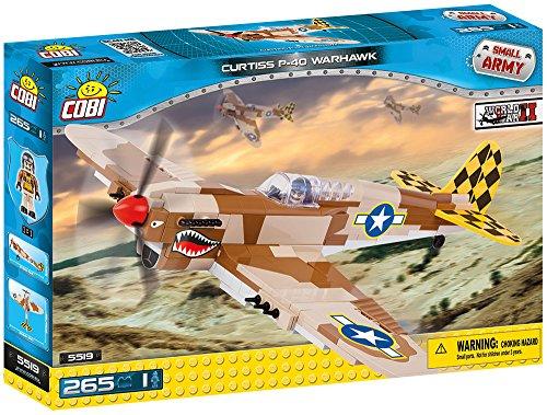 COBI - Curtiss P-40 Warhawk, avión (5519) , color/modelo surtido