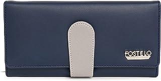 Fostelo Women's Ruby Two Fold Wallet (Blue)