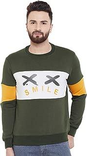 White Moon Men's Cotton Fleece Sweatshirt