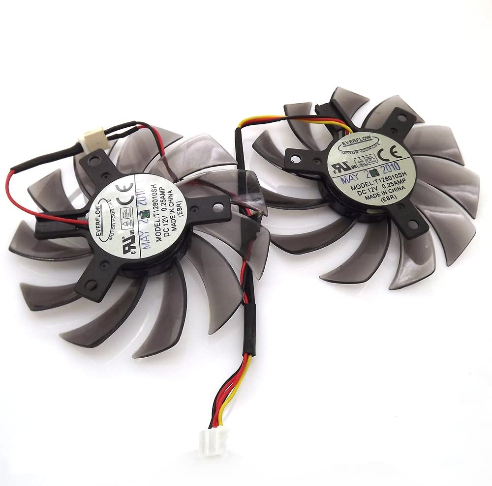 T128010SH 12V 0.25A 75mm Nippon regular agency Brand Cheap Sale Venue 3 Pin Cooling For GV-R5 Replacement Fan