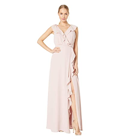 WAYF The Elise Open Back Gown (Nude Rose) Women