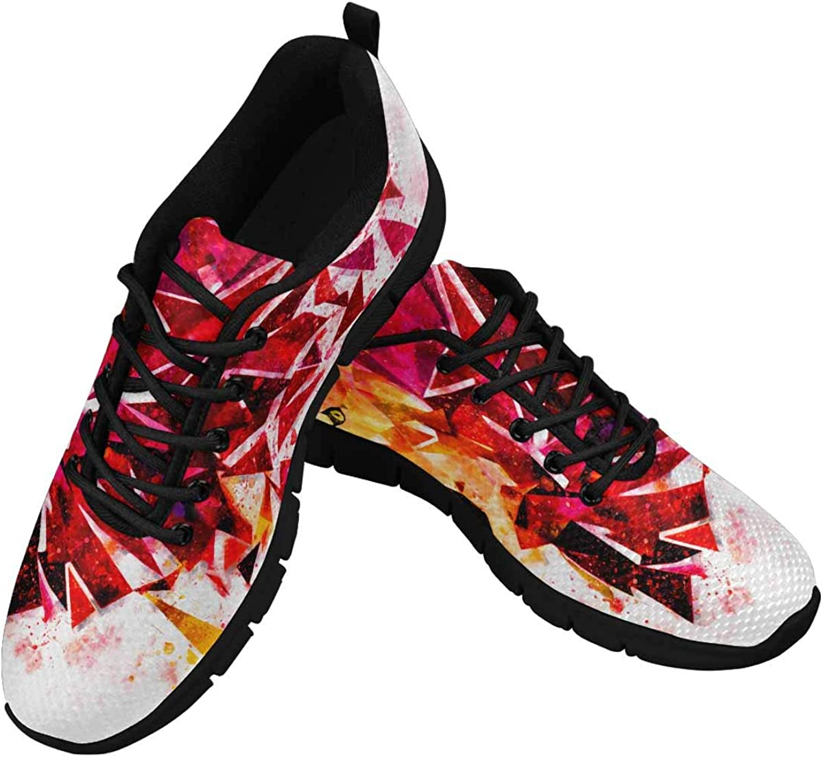 InterestPrint Lion Angry Women's Breathable Sneaker