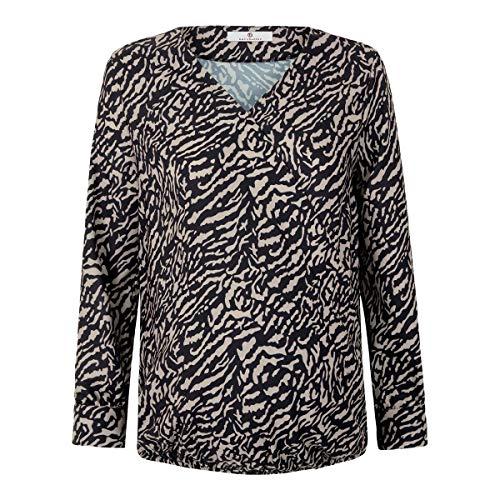 bellybutton Schwangerschaftsmode Damen Bluse T-Shirt, Allover|Multicolored, 42
