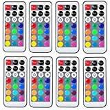 Exclusive Remote Controllers for Kitosun Submersible LED Lights 21Keys Pack of 8