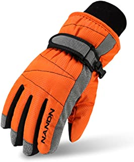 Kids Winter Warm Windproof Outdoor Sports Gloves For Boys Girls