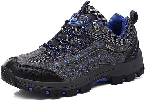 SELCNG Chaussures de randonnée Unisexes Chaussures de Marche imperméables Chaussures de Marche pour Hommes avec Chaussures de randonnée pour Sports de Plein air-violet-43
