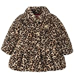Juicy Couture Girls' Little Jacket, Brown Print, 5